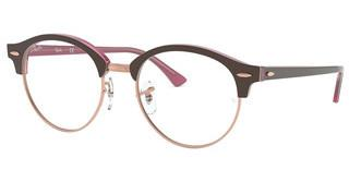 Ray-Ban RX4246V 5886 TOP BROWN ON OPAL PINK