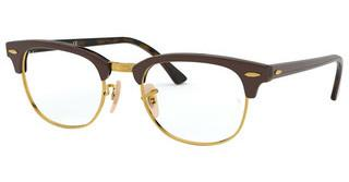 Ray-Ban RX5154 5969 TOP BROWN ON HAVANA YELLOW