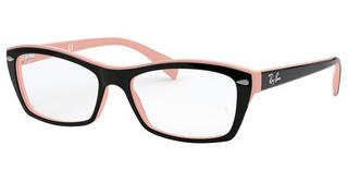 Ray-Ban RX5255 5024 TOP BLACK ON PINK