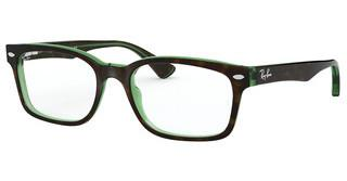 Ray-Ban RX5286 2383 TOP HAVANA ON GREEN TRANSP.