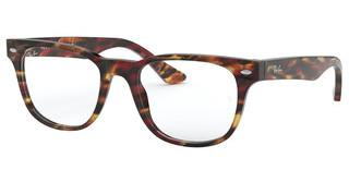 Ray-Ban RX5359 5710 SPOTTED RED/ BROWN/YELLOW