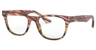 Ray-Ban RX5359 5838 PINK GRADIENT STRIPED BEIGE