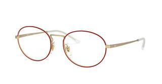 Ray-Ban RX6439 3052 MATT RED ON RUBBER GOLD