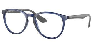 Ray-Ban RX7046 8084 TRANSPARENT BLUE