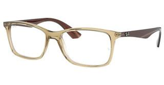 Ray-Ban RX7047 5770 TRANSPARENT BEIGE