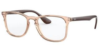 Ray-Ban RX7074 5940 TRANSPARENT LIGHT BROWN