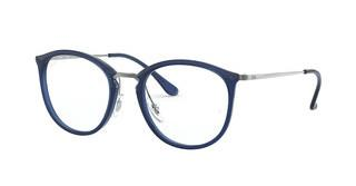 Ray-Ban RX7140 5752 TRANSPARENT BLUE