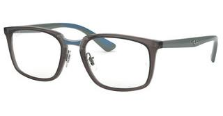 Ray-Ban RX7148 5760 TRASPARENT GREY