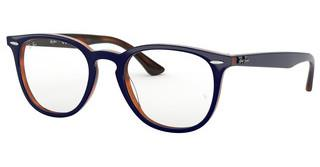 Ray-Ban RX7159 5910 TOP BLUE ON HAVANA RED
