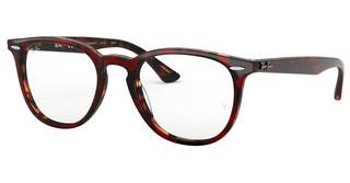 Ray-Ban RX7159 5911 TOP TRASP RED ON HAVANAORANGE