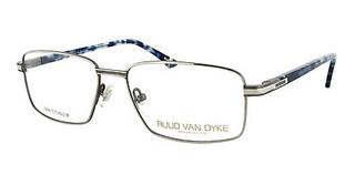 Ruud van Dyke 0556T 2 semim. li. blue, matt brown