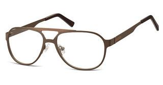 Sunoptic M4 D Matt Dark Brown/Light Brown