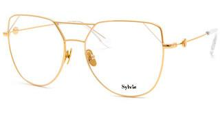Sylvie Optics 1903 01 gold-clear