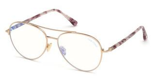 Tom Ford FT5684-B 28A rosé-gold glanz
