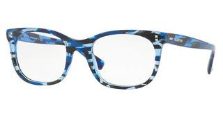 Valentino VA3010 5038 BLUE STRIPPED MURBLE ON BLUE T