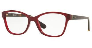 Vogue VO2998 2672 OPAL DARK RED