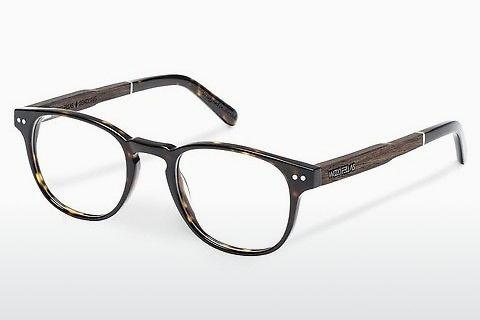 Brille Wood Fellas Sendling (10931 ebony/havana)