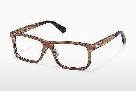 Brille Wood Fellas Eisenberg (10943 zebrano)
