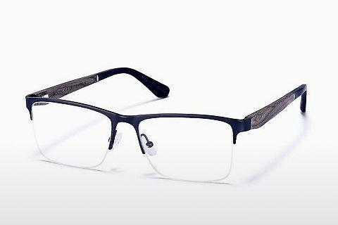 Brille Wood Fellas Gruttenstein (10982 curled/black matte)