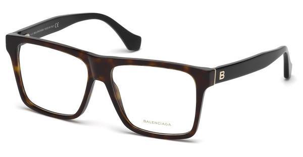 Balenciaga Damen Brille » BA5074«, braun, 053 - havana