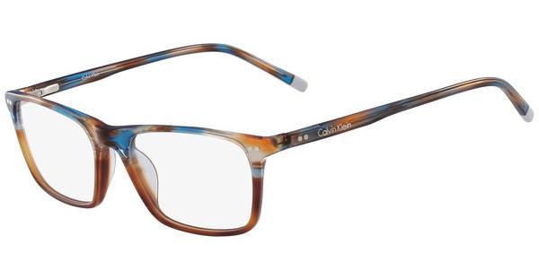 Calvin Klein Herren Brille » CK7980«, braun, 214 - havana