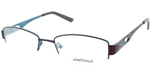 Detroit   UN478 02 matt dark brown/matt petrol