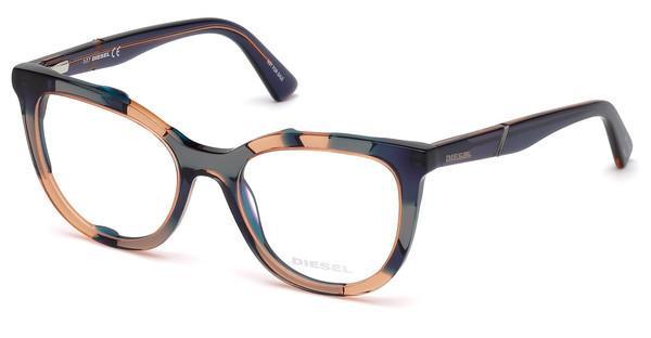 Diesel Damen Brille » DL5277«, rosa, 074 - rosa
