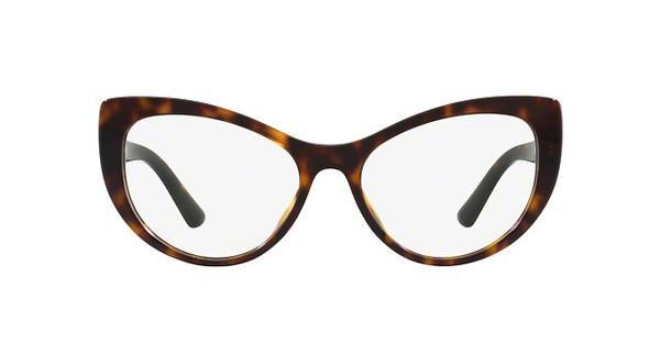 DOLCE & GABBANA Dolce & Gabbana Damen Brille » DG3285«, braun, 3178 - braun
