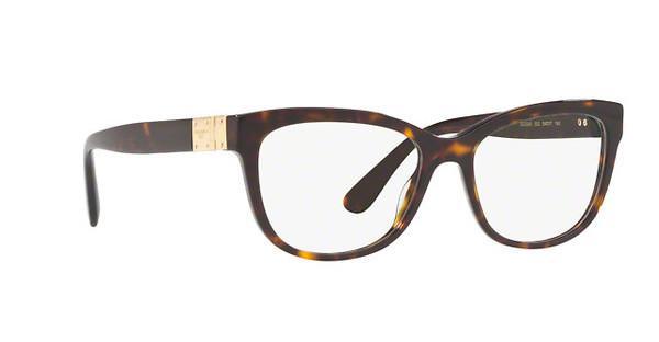 DOLCE & GABBANA Dolce & Gabbana Damen Brille » DG3290«, braun, 502 - braun