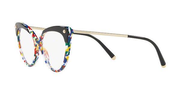 DOLCE & GABBANA Dolce & Gabbana Damen Brille » DG3291«, schwarz, 3181 - schwarz