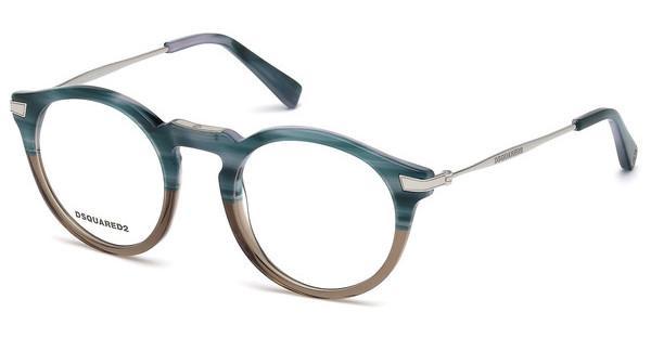Dsquared2 Brille » DQ5199«, schwarz, 002 - schwarz