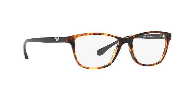 Emporio Armani Damen Brille » EA3099«, braun, 5677 - braun
