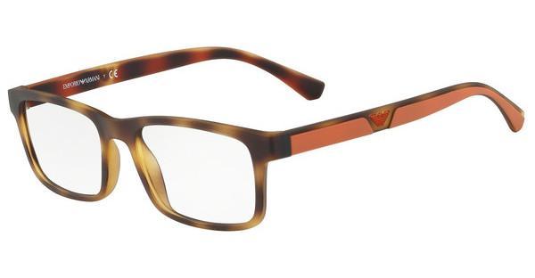 Emporio Armani Herren Brille » EA3130«, braun, 5089 - braun