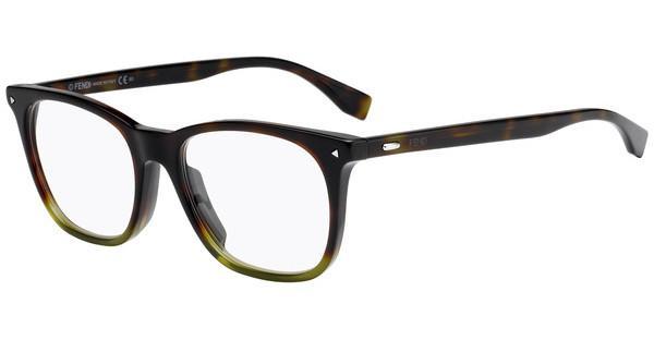 FENDI Fendi Herren Brille » FF M0019/F«, schwarz, WR7 - schwarz