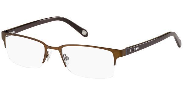 Fossil Herren Brille » FOS 7013«, braun, N9P - braun