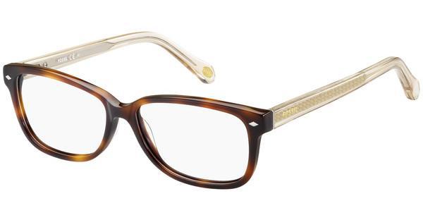 Fossil Damen Brille » FOS 6063«, braun, OKH - braun