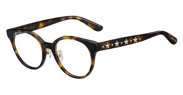 JIMMY CHOO Jimmy Choo Damen Brille » JC185/F«, braun, 086 - braun