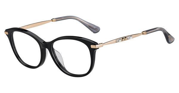 JIMMY CHOO Jimmy Choo Damen Brille » JC186/F«, schwarz, 06K - schwarz