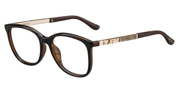 JIMMY CHOO Jimmy Choo Damen Brille » JC191«, braun, 9N4 - braun