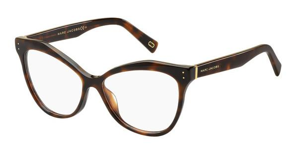 MARC JACOBS Marc Jacobs Damen Brille » MARC 125«, braun, ZY1 - braun