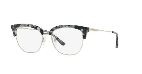 MICHAEL KORS Michael Kors Damen Brille »GALWAY MK3023«, schwarz, 3214 - schwarz