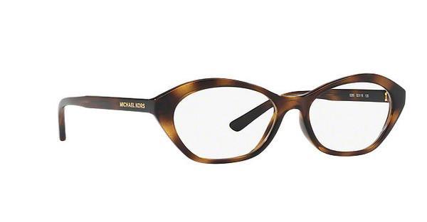 MICHAEL KORS Michael Kors Damen Brille »MINORCA MK4052«, braun, 3285 - braun