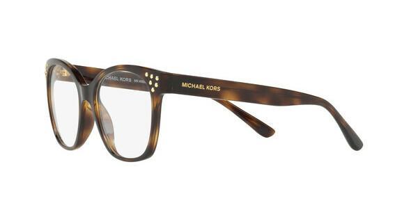 MICHAEL KORS Michael Kors Damen Brille »CHESAPEAKE MK4055«, schwarz, 3009 - schwarz