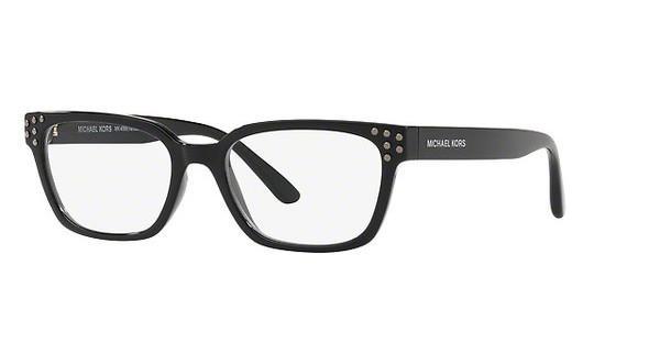 MICHAEL KORS Michael Kors Damen Brille »VANCOUVER MK4056«, schwarz, 3009 - schwarz