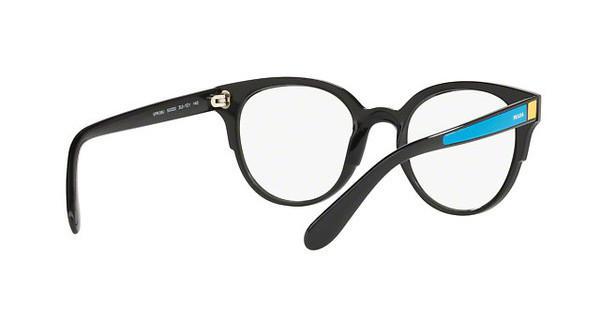 PRADA Prada Damen Brille » PR 08UV«, schwarz, SUI1O1 - schwarz
