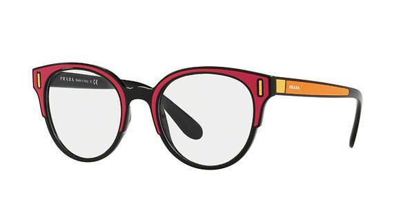 PRADA Prada Damen Brille » PR 08UV«, schwarz, SVS1O1 - schwarz