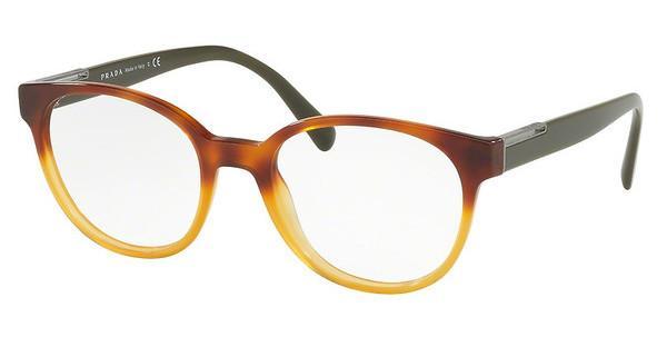 PRADA Prada Herren Brille » PR 10UV«, gelb, NKO1O1 - gelb