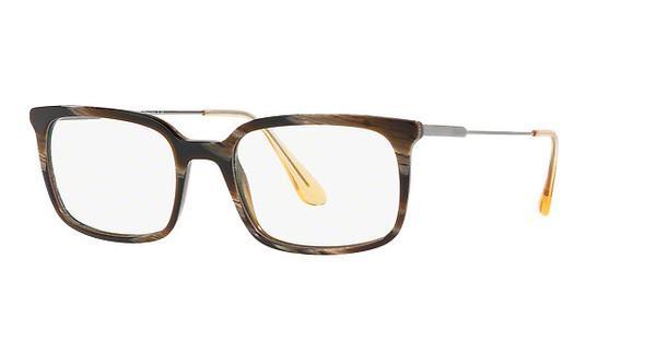 PRADA Prada Herren Brille » PR 16UV«, braun, C9O1O1 - braun
