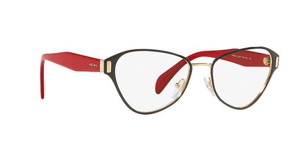 PRADA Prada Damen Brille » PR 58UV«, grau, EFX1O1 - grau
