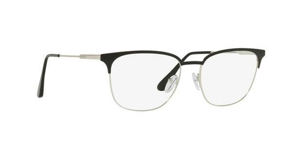 PRADA Prada Herren Brille » PR 59UV«, schwarz, 1BO1O1 - schwarz